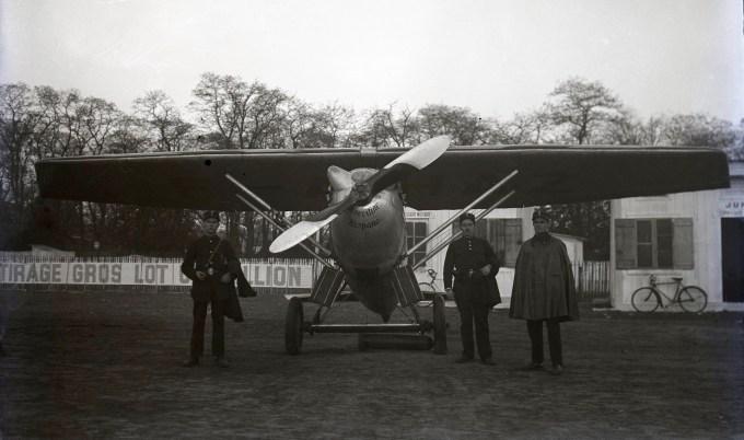 Dewoitine D1 F-AHAZ de Marcel Doret lors des journées nationales de l'aviation les 19 et 20 mai 1929 @Jacques Hémet