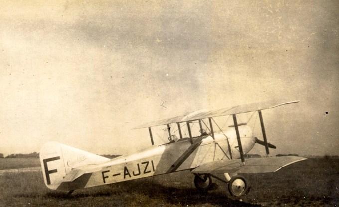 Caudron 232 F-AJZI de l'Aéroclub de Normandie en 1930 © Alain Bétrancourt