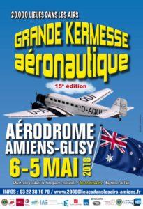 Grande Kermess aeronautique Amiens Glisy 5-6 mai 2018