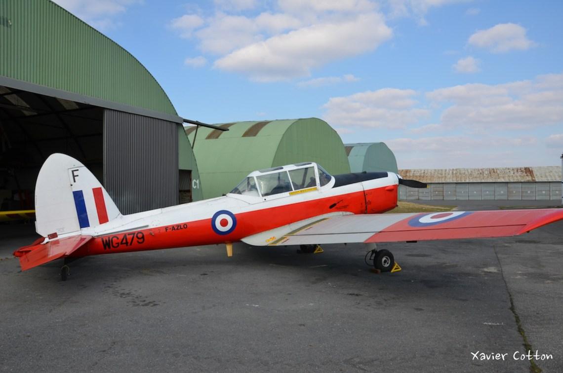 De Havilland Chipmunk DHC-1 WG479 F-AZLO ©Xavier Cotton