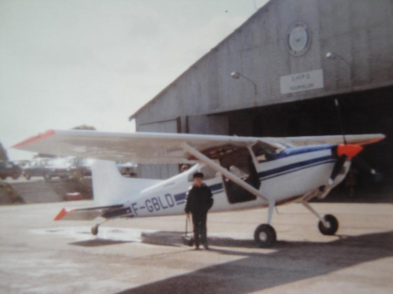 Cessna C185 F-GBLD ©Alain Delibero