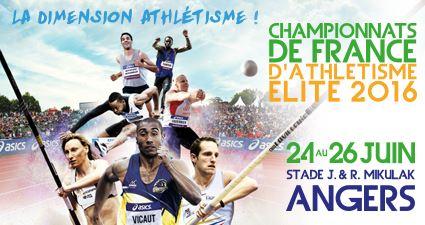 Championnats de France Elite d'Athlétisme à Angers