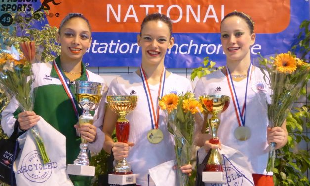 Championnat de France de natation synchronisée Espoirs N1 et N2 à Angers