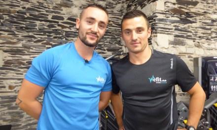 Circuit training à séries groupées avec Antoine DAUTEL et Jean-Sébastien COCHERELLE