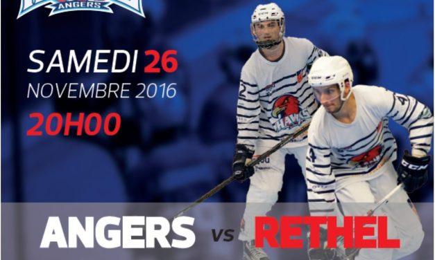 Les Hawks d'Angers continuent leur parcours sans faute face à Paris XIII (6-5)