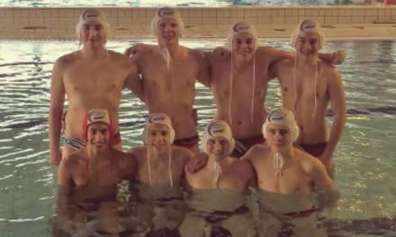 Les jeunes U17 d'Angers Natation Water-polo se qualifient avec le cœur, à Moulin.