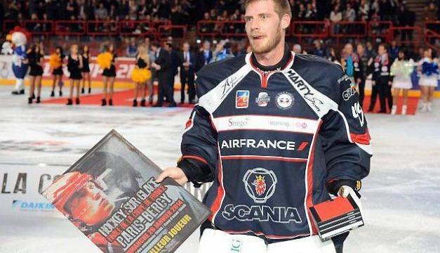 Interview du gardien titulaire des Ducs d'Angers, Florian Hardy.