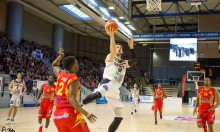 NM1 (31e journée) : Angers enchaîne une deuxième victoire de rang face à Tarbes (96-75).