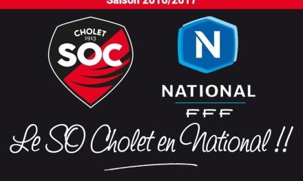 CFA (28e journée) : Montée historique du SO Cholet en National !