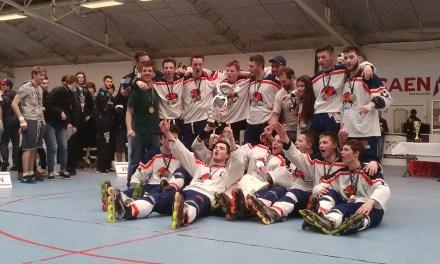 Les Hawks Angers Roller sacrés Champion de France Juniors Élite.