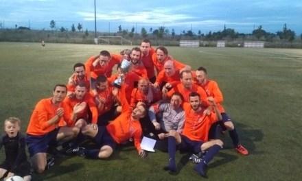 Victoire des loisirs de l'AS Saint-Sylvain d'Anjou en Finale de la coupe de l'Amitié.