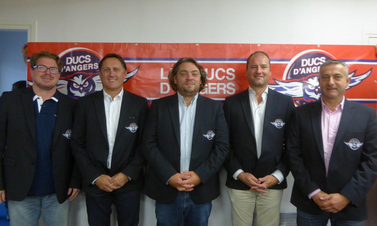 Mickaël JURET, président des Ducs d'Angers, nous fait un état des lieux de son club.