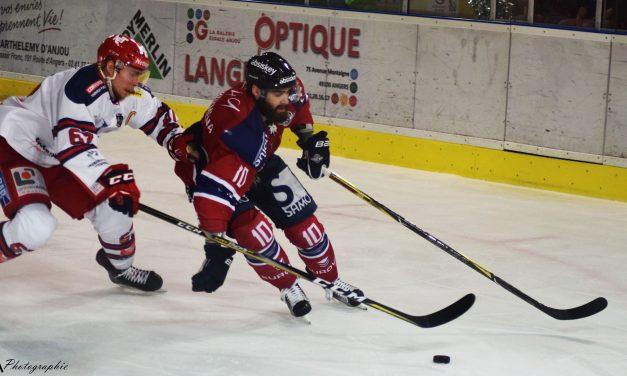 Retrouvez en vidéo les réactions d'après-match : Les Ducs d'Angers – Les Brûleurs de Loups de Grenoble (2-4).