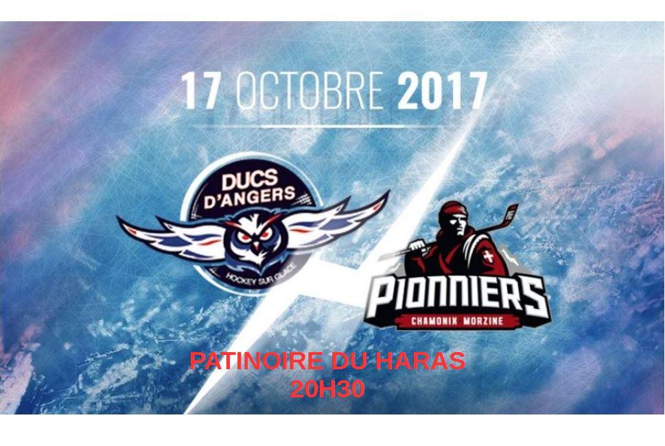 Ligue Magnus (14e journée) : Les Ducs d'Angers reçoivent les Pionniers de Chamonix, ce soir à 20h30 !