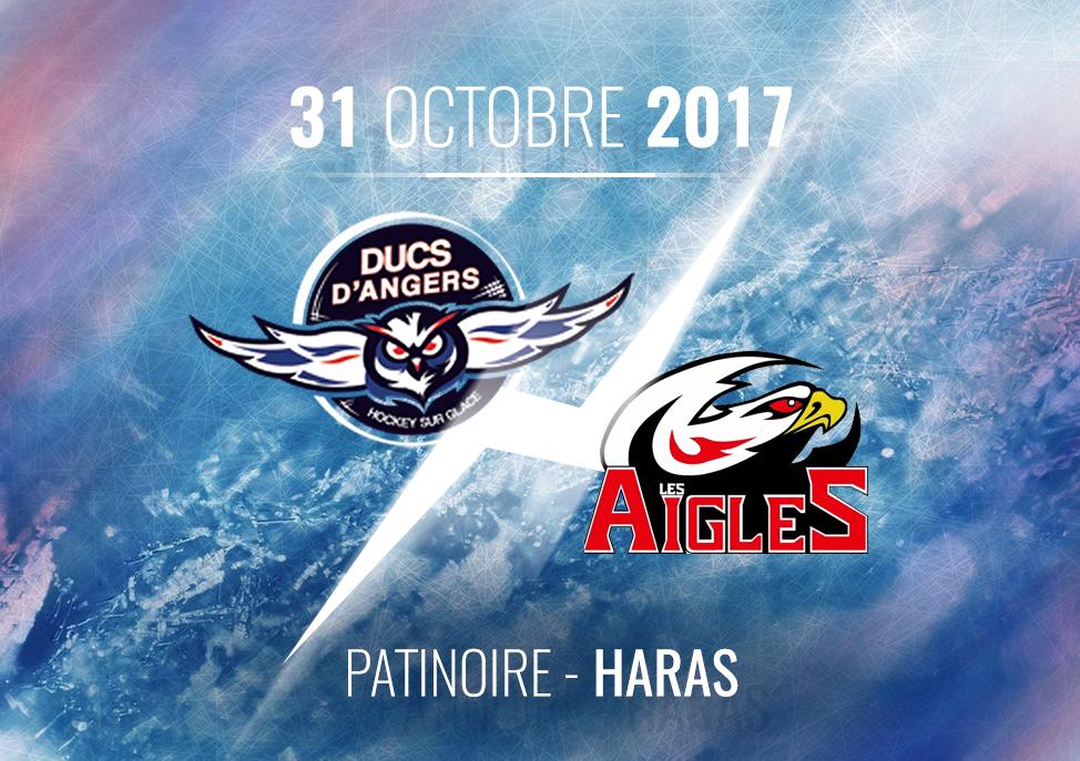 Ligue Magnus (18e journée) : Les Ducs d'Angers reçoivent les Aigles de Nice, ce mardi à 20h30 !