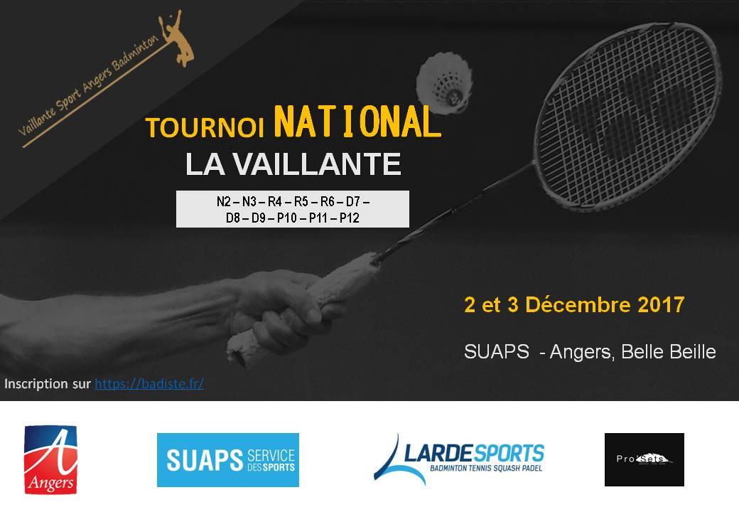 25e Masters National de la Vaillante Badminton Angers !