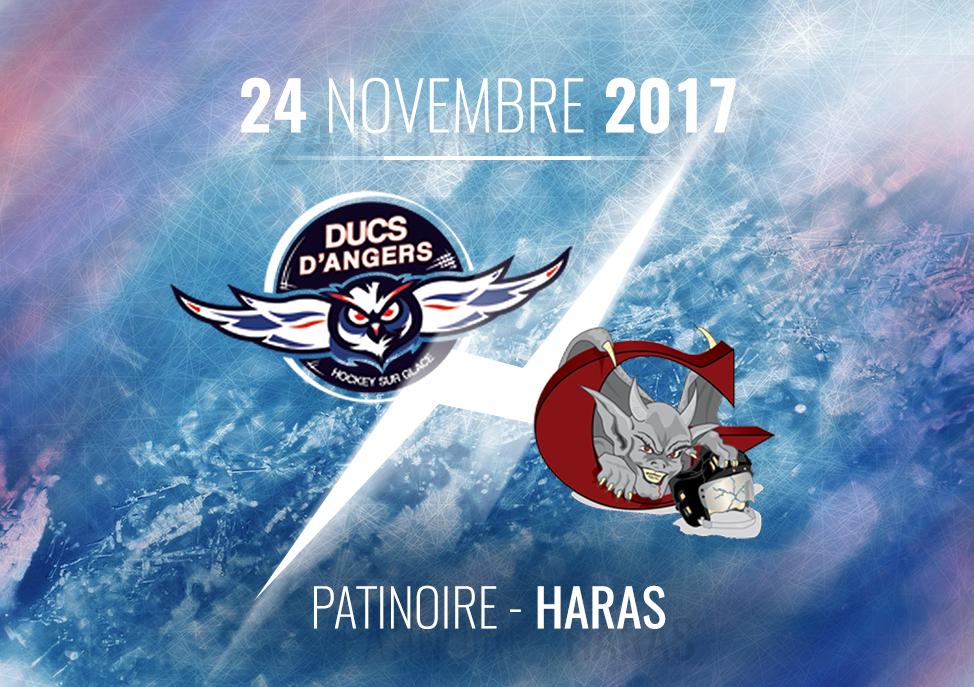 Ligue Magnus (22e journée) : Les Ducs d'Angers reçoivent les Gothiques d'Amiens, ce vendredi à 20h30 !
