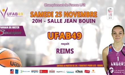 LF2 (8e journée) : L'UFAB souhaite continuer sa progression face à Reims.