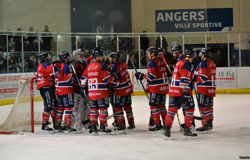 Ligue Magnus (29e journée) : Angers s'offre le champion de France Gapençais chez lui (3-2).