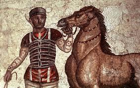 L'histoire du sport à l'Antiquité.