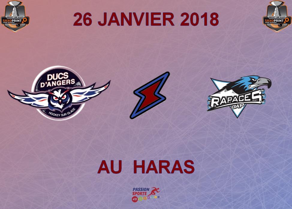 Ligue Magnus (39e journée) : Angers doit gagner face au champion de France gapençais
