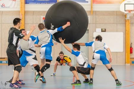 Une action au Kin-Ball