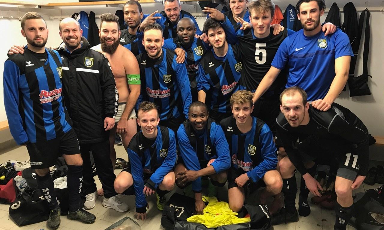D1 (18e journée) : Montreuil-Juigné-Béné a cartonné une équipe de la Doutre diminuée (8-0).