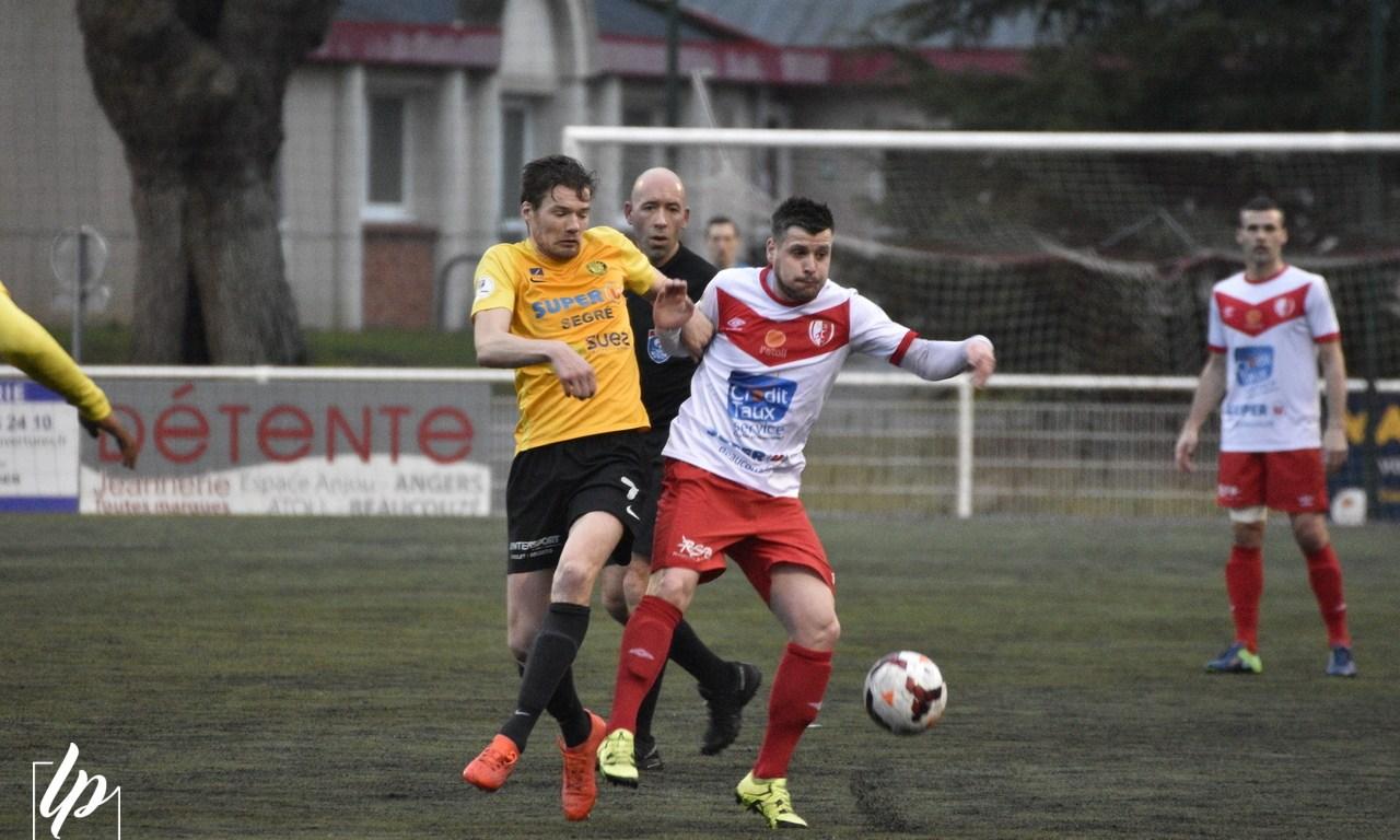 DH (17e journée) : Beaucouzé renoue avec la victoire en championnat face à Segré (1-0).