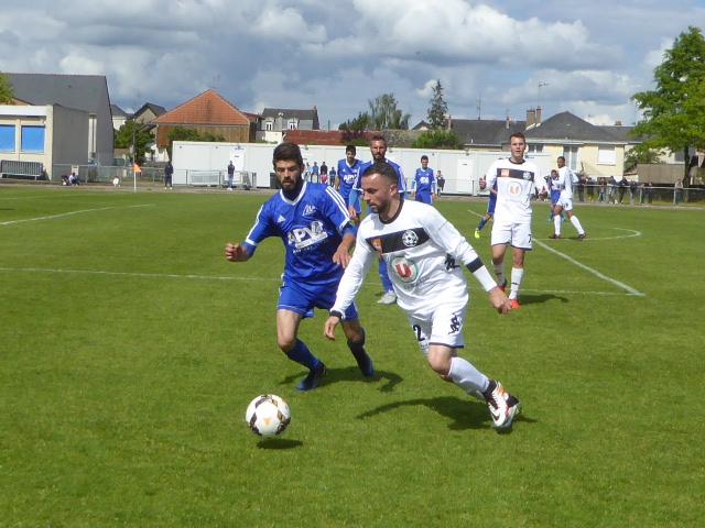 DRH (21e journée) : Angers NDC revient de loin en obtenant le match nul face à Mareuil (2-2).