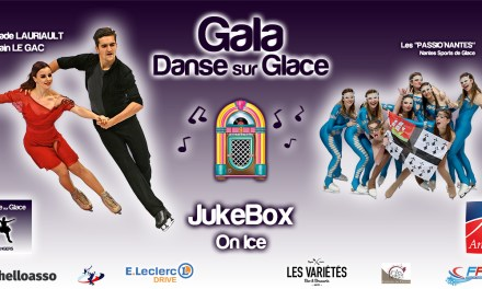 L'ASGA Danse sur glace organise son gala JukeBox On Ice à Angers.