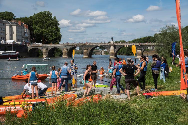 Cale de la Savatte et Quai des Carmes canoë-kayak (photo : Jean-Patrice Campion).