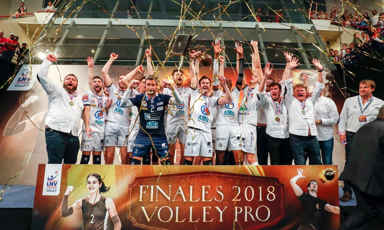 Les finales de volley pro 2018 : Le goût du bonheur !