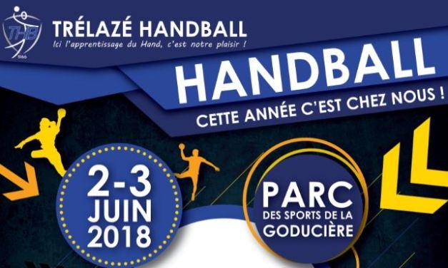 Les finales des Coupes et des Challenges de l'Anjou 2018 de handball auront lieu à Trélazé !