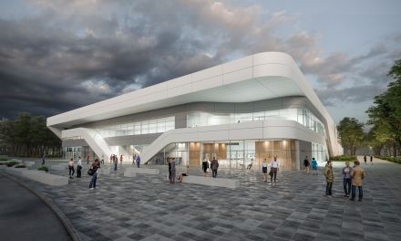 La nouvelle patinoire ouvrira ses portes en septembre 2019.