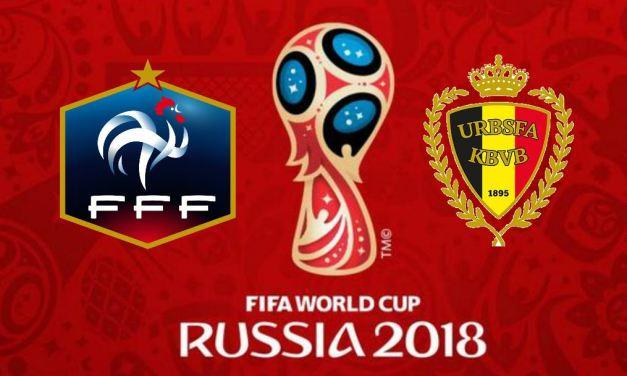 Coupe du Monde de Football: retransmission de la demi-finale France – Belgique, sur écran géant le 10 juillet 2018.