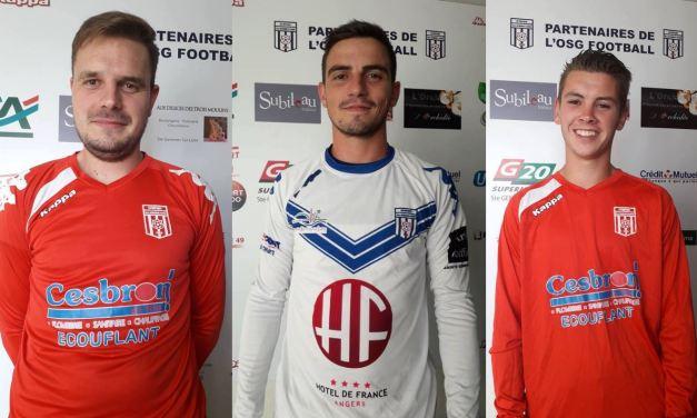 L'Olympique Sainte-Gemmes-sur-Loire recrute cinq nouveaux joueurs.