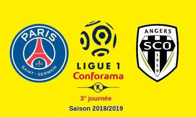 L1 (3e journée) : Angers SCO se déplace chez l'ogre parisien.