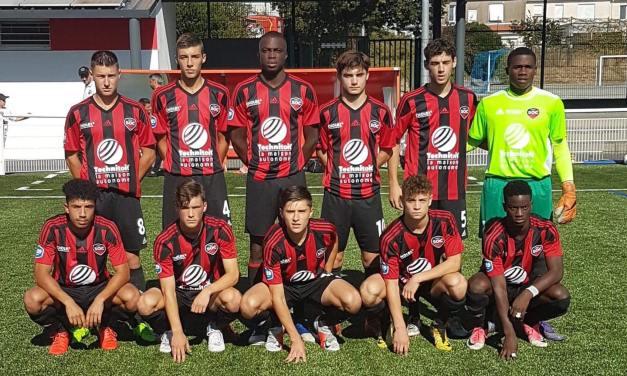 U19 National : Défaite frustrante du SO Cholet face au Stade Rennais (1-2).