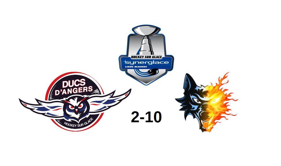 Ligue Magnus (1ère journée) : Angers s'incline lourdement face à Grenoble (10-2).