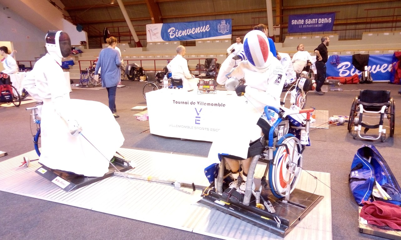Angers NDC escrime se lance dans le handisport.