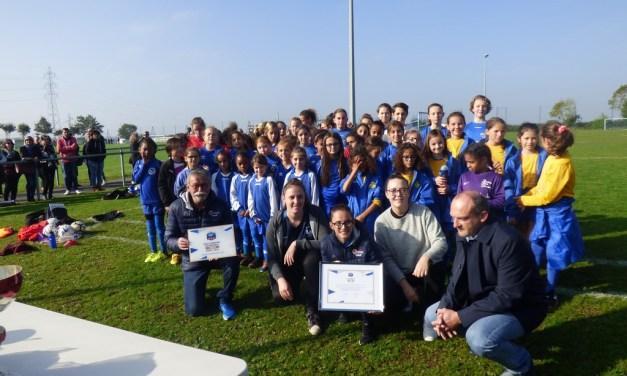L'ASPTT Cholet Football a reçu le label Féminin, niveau Bronze, pour la période 2018/2021.
