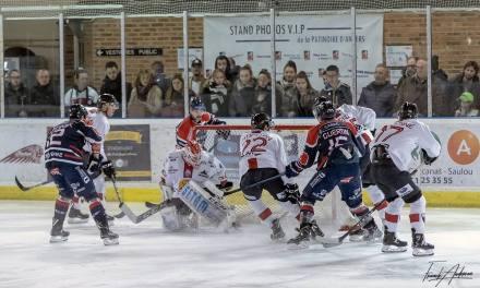 Ligue Magnus (16e journée) : Dominateurs, les Angevins obtiennent une victoire difficile face à Chamonix (3-1).