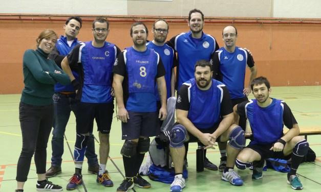 L'AAEEC Kinball Les Ponts-de-Cé accueillait la quatrième journée du championnat de France de Kin-Ball.
