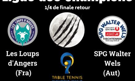 Retour de la Ligue des Champions à Angers !