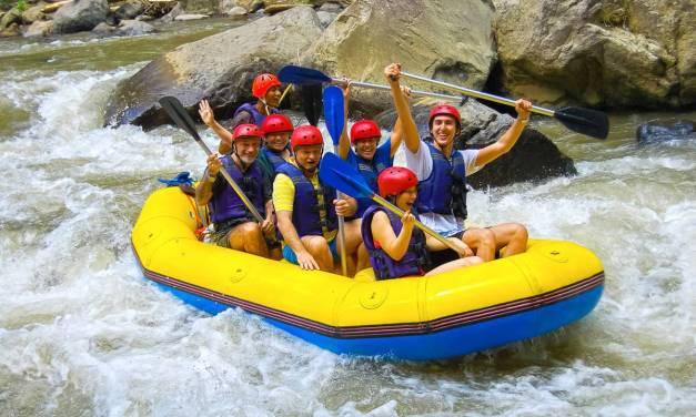 Les descentes en rafting dans les gorges du Verdon.