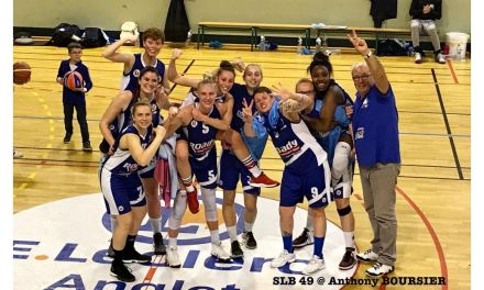 La série de victoires se poursuit à Anglet pour le Saumur Loire Basket 49 (61-60).