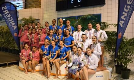 Les championnats de France Juniors N1 et N2 de Natation Artistique s'installent à Angers.