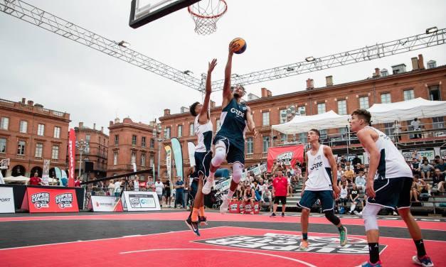 Basket 3×3 : finales du Trophée de l'Anjou.
