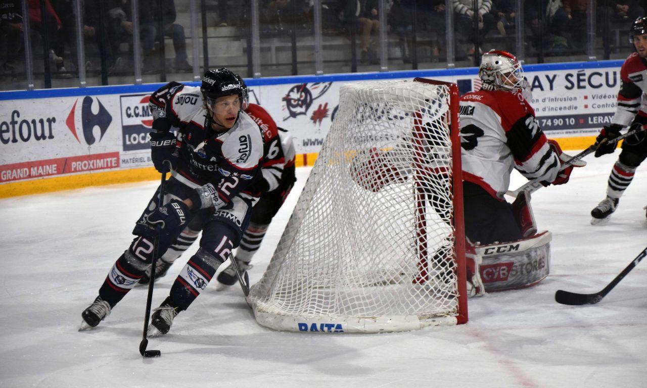 LM (M3) : Les Ducs d'Angers ont réalisé un match solide face à Bordeaux (4-3).
