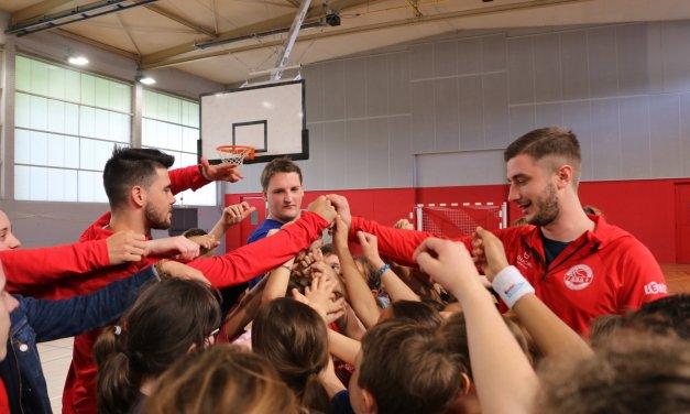 Avrillé Basket veut continuer la formation dès le plus jeune âge, afin de performer avec ses équipes seniors.